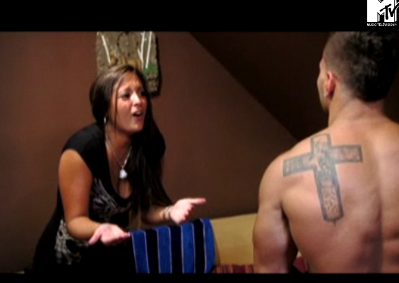 "jersey shore ronnie hair. MTV#39;s ""Jersey Shore"" Episode 4"